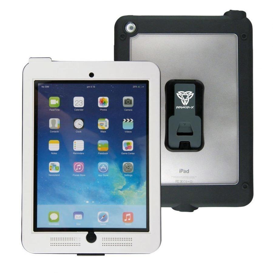Armor-X iPad Air 1 tai 2 IPX7 Vedenkestävä Suojakotelo MX