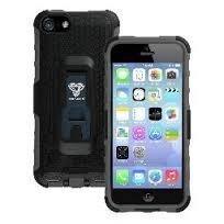 Armor-X iPhone 5C Kestävä Suojakotelo X-Mount kiinnityksellä