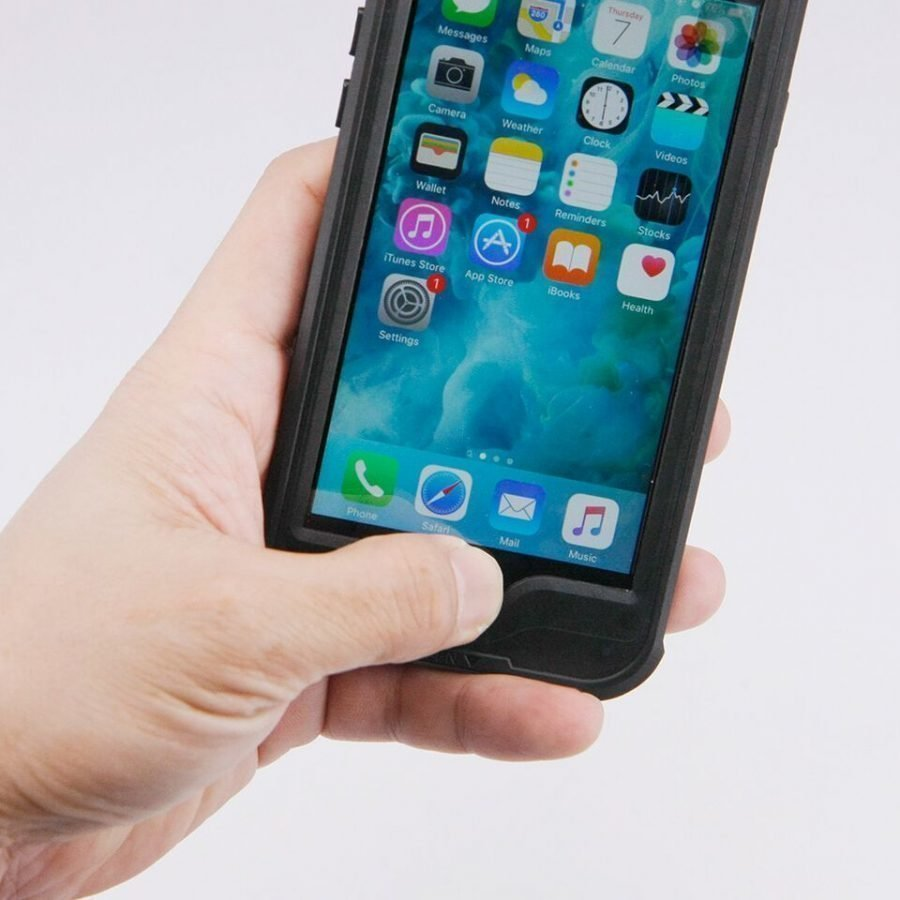 Armor-X iPhone 6 / 6S IP68 Vedenkestävä suojakotelo MX-AP4S-BK