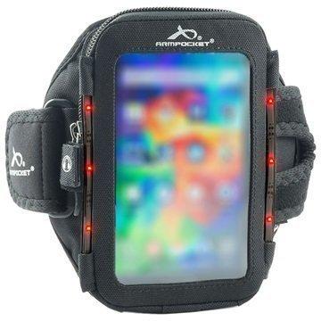 Armpocket Flash Yleiskäyttöinen Käsivarsikotelo S Musta