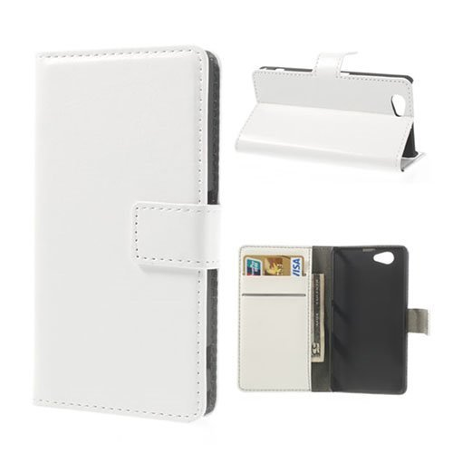 Arnald Sony Xperia Z1 Compact Nahkakotelo Valkoinen