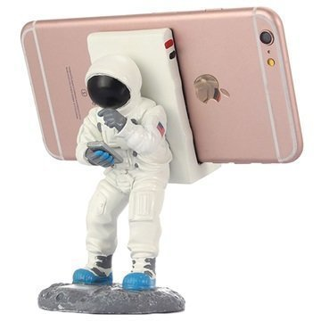 "Astronautti Pöytäteline Ã""lypuhelimelle â"" Valkoinen"
