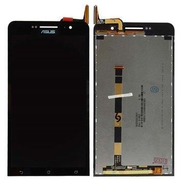 Asus ZenFone 6 LCD-Näyttö Musta