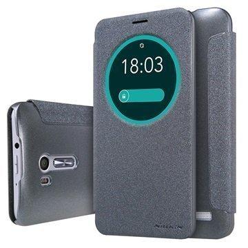 Asus ZenFone Go ZB551KL Nillkin Sparkle View Flip Case Black