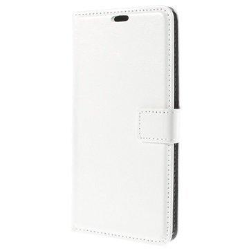 Asus Zenfone 2 ZE551ML Classic Lompakkokotelo Valkoinen