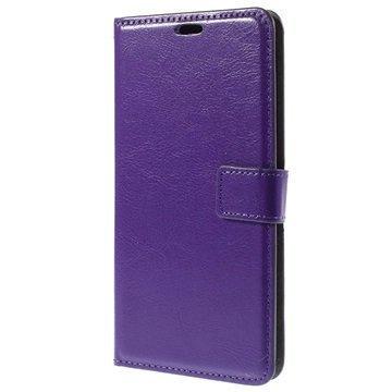 Asus Zenfone 2 ZE551ML Classic Lompakkokotelo Violetti