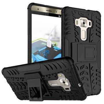 Asus Zenfone 3 Deluxe ZS570KL Anti-Slip Hybrid Case Black