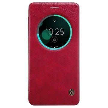 Asus Zenfone 3 Deluxe ZS570KL Nillkin Qin Smart View Flip Case Red
