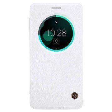 Asus Zenfone 3 Deluxe ZS570KL Nillkin Qin Smart View Flip Case White
