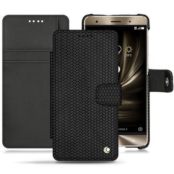 Asus Zenfone 3 Deluxe ZS570KL Noreve Tradition B Wallet Case Abaca Black