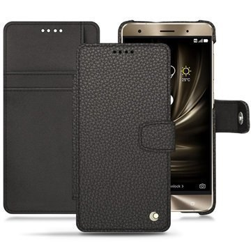 Asus Zenfone 3 Deluxe ZS570KL Noreve Tradition B Wallet Case Antrasiitinharmaa