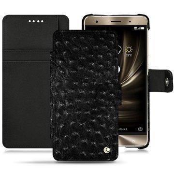 Asus Zenfone 3 Deluxe ZS570KL Noreve Tradition B Wallet Case Autruche Black