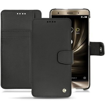 Asus Zenfone 3 Deluxe ZS570KL Noreve Tradition B Wallet Case Black