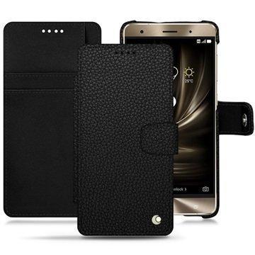 Asus Zenfone 3 Deluxe ZS570KL Noreve Tradition B Wallet Case Eebenpuunmusta