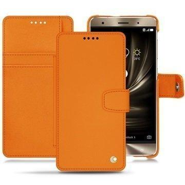 Asus Zenfone 3 Deluxe ZS570KL Noreve Tradition B Wallet Case Oranssi