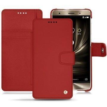 Asus Zenfone 3 Deluxe ZS570KL Noreve Tradition B Wallet Case Punainen