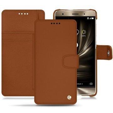 Asus Zenfone 3 Deluxe ZS570KL Noreve Tradition B Wallet Case Ruskea