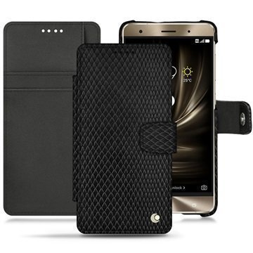 Asus Zenfone 3 Deluxe ZS570KL Noreve Tradition B Wallet Case Serpent Black