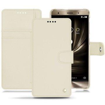 Asus Zenfone 3 Deluxe ZS570KL Noreve Tradition B Wallet Case Valkoinen