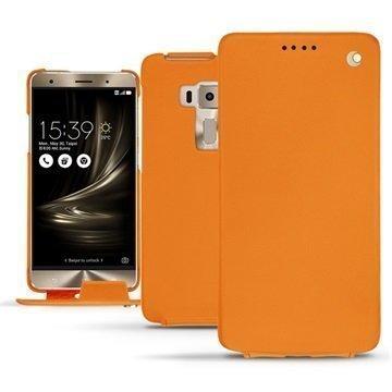 Asus Zenfone 3 Deluxe ZS570KL Noreve Tradition Flip Case Oranssi
