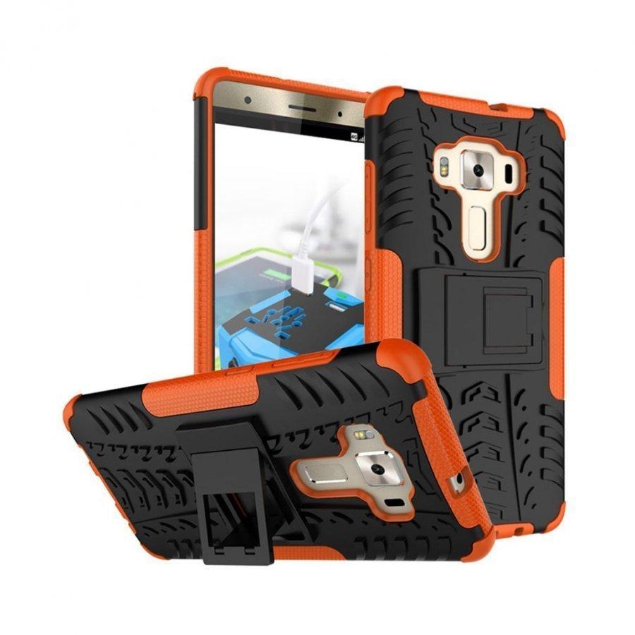 Asus Zenfone 3 Deluxe Zs570kl Hybridi Kuori Standillä Oranssi