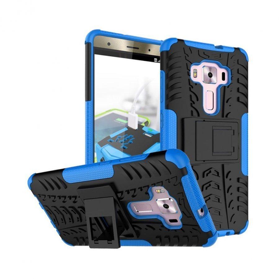 Asus Zenfone 3 Deluxe Zs570kl Hybridi Kuori Standillä Sininen