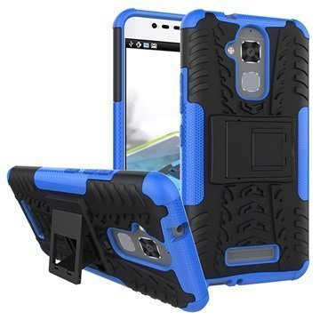 Asus Zenfone 3 Max ZC520TL Anti-Slip Hybrid Case Black / Blue