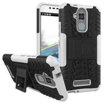 Asus Zenfone 3 Max ZC520TL Anti-Slip Hybrid Case Black / White