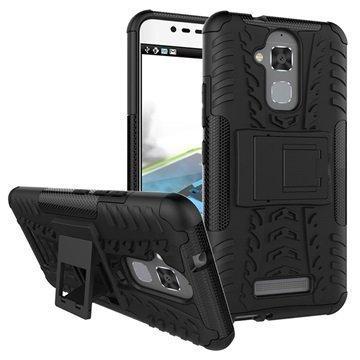 Asus Zenfone 3 Max ZC520TL Anti-Slip Hybrid Case Black