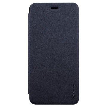 Asus Zenfone 3 Max ZC520TL Nillkin Sparkle Läppäkotelo Musta