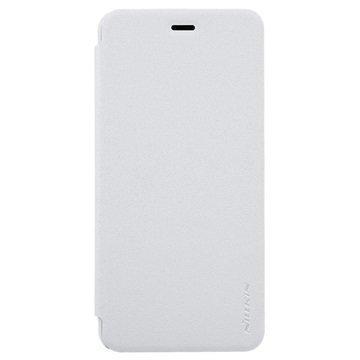 Asus Zenfone 3 Max ZC520TL Nillkin Sparkle Läppäkotelo Valkoinen