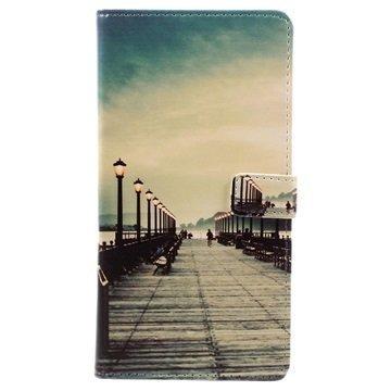 Asus Zenfone 3 Max ZC553KL Glam Wallet Case Pier