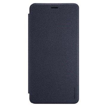 Asus Zenfone 3 Ultra ZU680KL Nillkin Sparkle läppäkotelo Musta