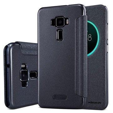 Asus Zenfone 3 ZE520KL Nillkin Sparkle View Flip Case Black