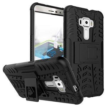 Asus Zenfone 3 ZE552KL Anti-Slip Hybrid Case Black