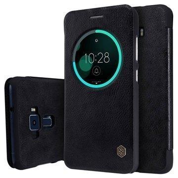 Asus Zenfone 3 ZE552KL Nillkin Qin Smart View Flip Case Black