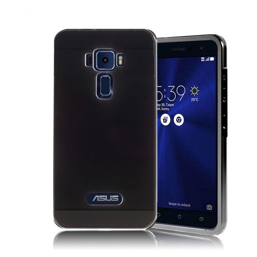 Asus Zenfone 3 Ze520kl Harjattu Hybridi Muovikuori Musta