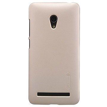 Asus Zenfone 5 Lite A502CG Nillkin Super Frosted Shield Suojakuori Kultainen
