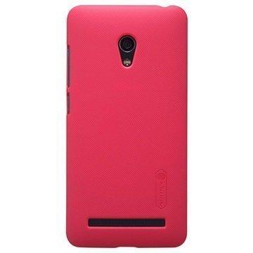 Asus Zenfone 5 Lite A502CG Nillkin Super Frosted Shield Suojakuori Punainen