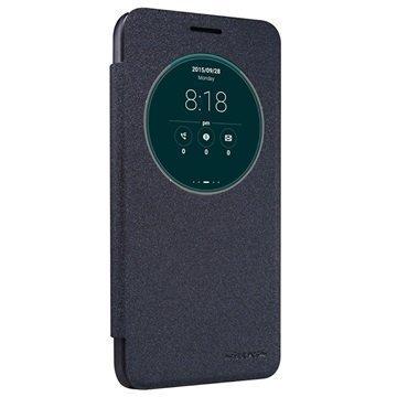 Asus Zenfone Go ZC500TG Nillkin Sparkle Series Smart View Läppäkotelo Musta
