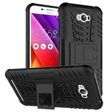 Asus Zenfone Max ZC550KL Anti-Slip Hybridikotelo Musta