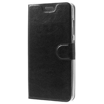 Asus Zenfone Max ZC550KL Classic Lompakkokotelo Musta