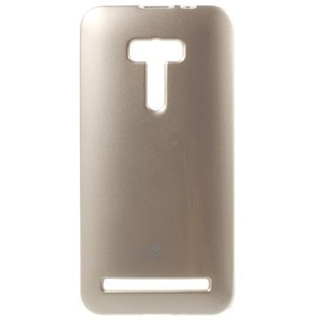 Asus Zenfone Selfie ZD551KL Mercury Goospery TPU Kotelo Kulta