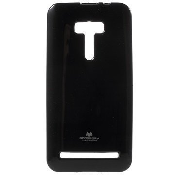 Asus Zenfone Selfie ZD551KL Mercury Goospery TPU Kotelo Musta