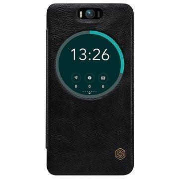 Asus Zenfone Selfie ZD551KL Nillkin Qin Series Smart View Läppäkotelo Musta