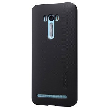 Asus Zenfone Selfie ZD551KL Nillkin Super Frosted Shield Suojakuori Musta
