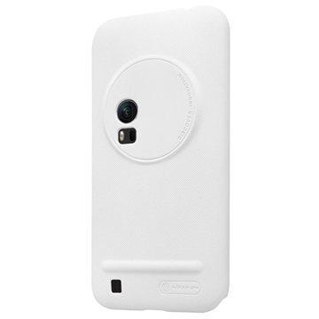 Asus Zenfone Zoom ZX551ML Nillkin Super Frosted Suojakotelo Valkoinen