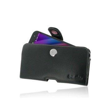 Asus Zenfone Zoom ZX551ML PDair Vaakasuuntainen Nahkakotelo Musta