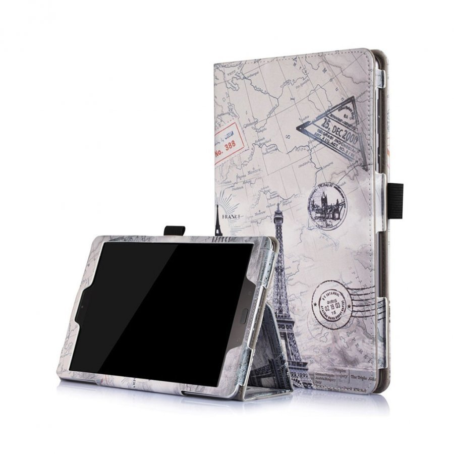 Asus Zenpad 3s 10 Taittuva Nahkakotelo Eiffel Torni