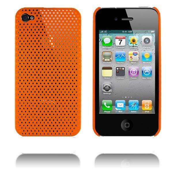 Atomic I4 Oranssi Iphone 4 Suojakuori